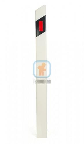 Столбик сигнальный дорожный пластиковый С1 ГОСТ
