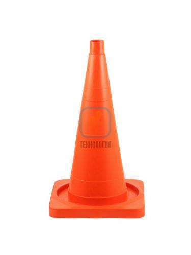Конус дорожный сигнальный КС 2.2 (520 мм) оранжевый, однотонный
