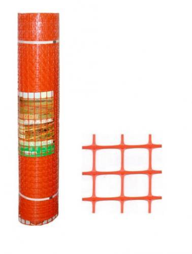 Сетка пластиковая оградительная А-45 1.3*25м