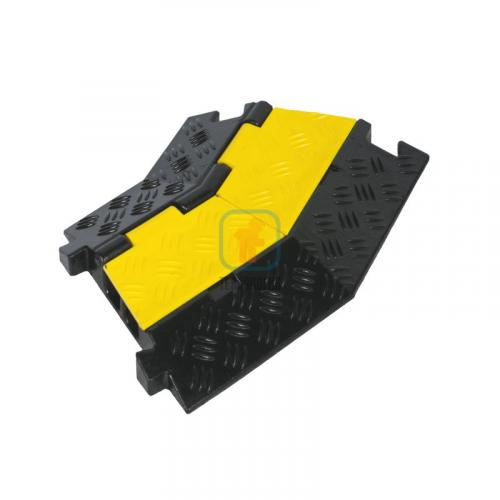 ККР 2-12У Кабель-канал Угловой элемент Резина (2 канала 30х30 мм)