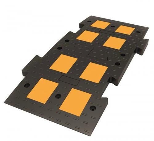 ИДН 1100-1 композит черный (Полимерпесчаный Лежачий полицейский)