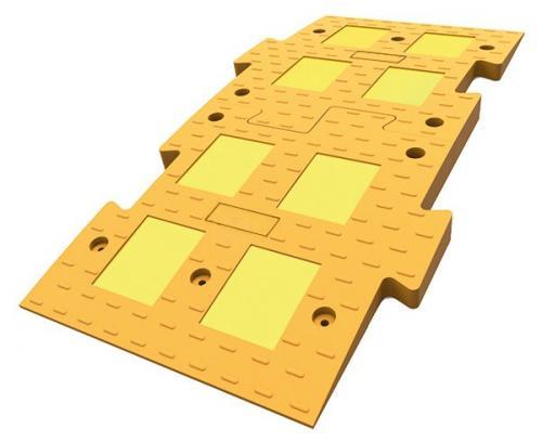 ИДН 1100-1 композит желтый (Полимерпесчаный Лежачий полицейский)