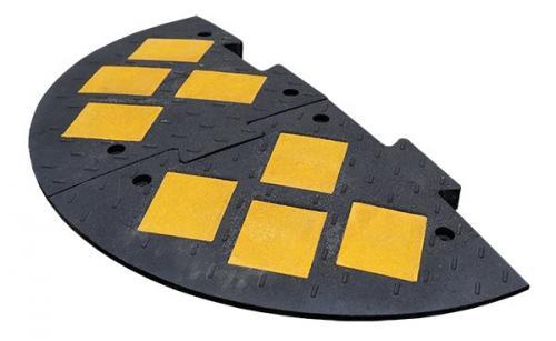 ИДН 1100-2 композит черный (Полимерпесчаный Лежачий полицейский)