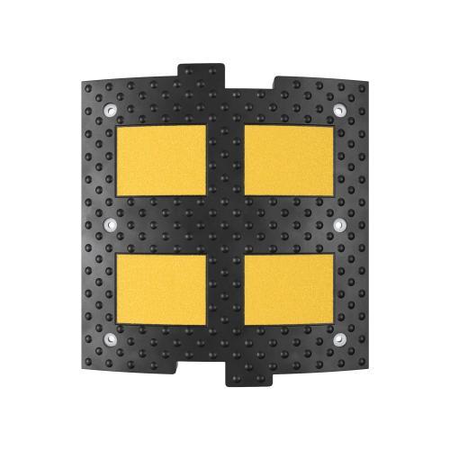 Лежачий полицейский ИДН-500-1 Средний элемент Сотовая структура + Усиленное крепление + Армирование металлокордом  (искусственная дорожная неровность)