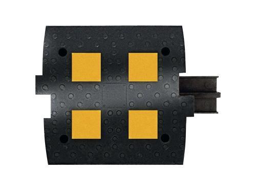 ИДН 500-1 композит с кабель-каналом (Полимерпесчаный Лежачий полицейский)