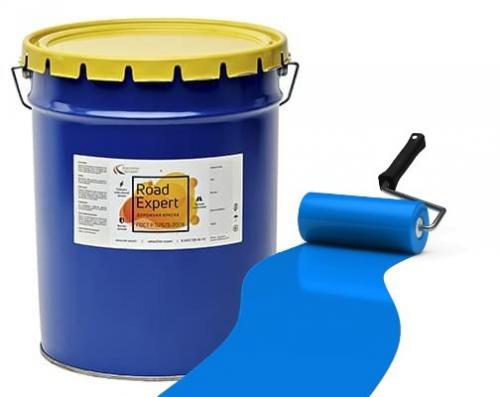 Эмаль АК-511 «Road Expert» синяя фас.30 кг.