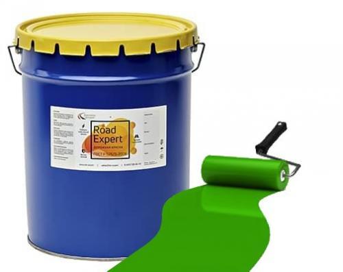 Эмаль АК-511 «Road Expert» зеленая фас.30 кг.