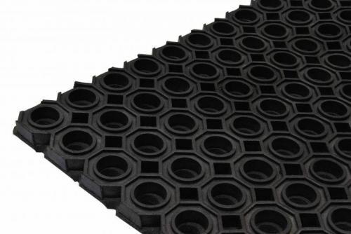 Резиновое Ячеистое покрытие Гексафлекс 13 мм (Мат резиновый)
