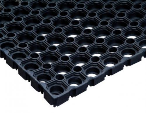 Резиновое Ячеистое покрытие Компос 18 мм 800х1200 (Мат резиновый)