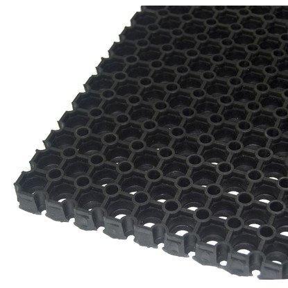 Резиновое Ячеистое покрытие Квадрофлекс 22 мм (Мат резиновый)