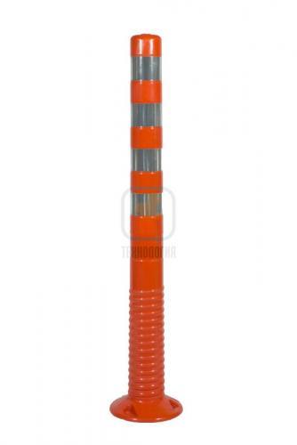 Столбик разделительный гибкий 1000 мм цельный Т.