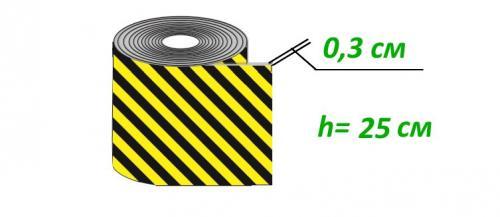 ДР-ВП-1-0,25 Демпфер рулонный из вспененного полиэтилена