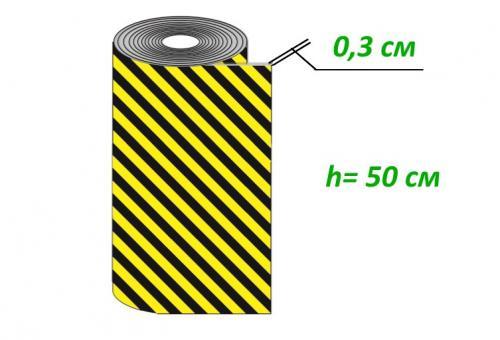ДР-ВП-1-0,5 Демпфер рулонный из вспененного полиэтилена