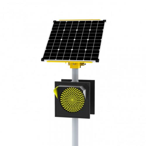 Автономный светофор Т.7.2 двусторонний 300 мм 110 Вт/26Ач