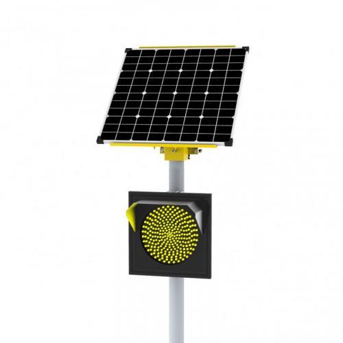 Автономный светофор Т.7.2 односторонний 300 мм 65 Вт/17Ач