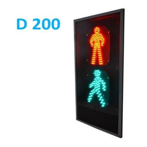 Пешеходный светофор П.1.1 плоский корпус