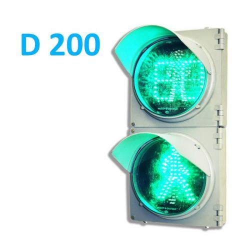 Пешеходный светофор П.1.1 с ТООВ