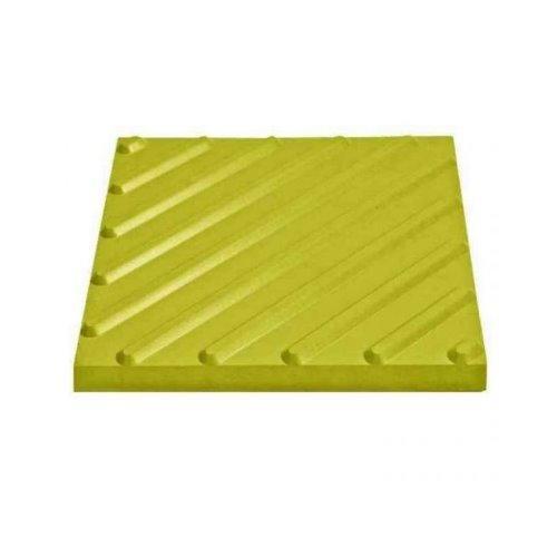 Тактильная плитка диагональный риф 300