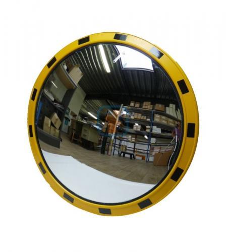 Зеркало индустриальное круглое 800 мм.