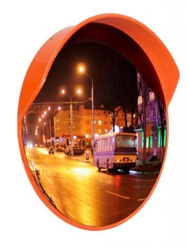 Зеркало сферическое скозырьком ЗС-800