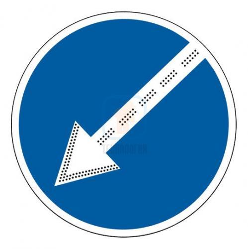 Светодиодный (импульсный) знак 4.2.1, 4.2.2, 4.2.3 , D 700