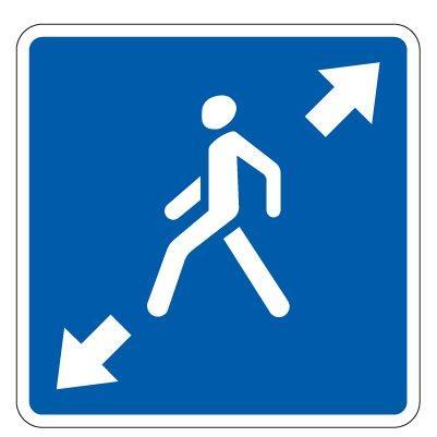 5.19.4д — Диагональный пешеходный переход