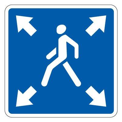 5.19.3д — Диагональный пешеходный переход