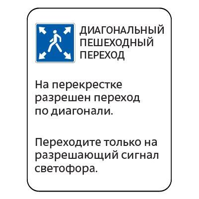 5.19.инф — Информационная табличка для пешеходов