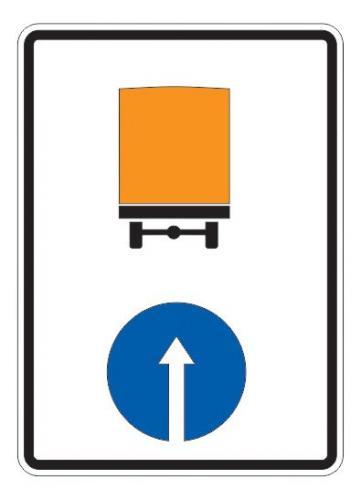 4.8.2 — Направление движения транспортных средств с опасными грузами