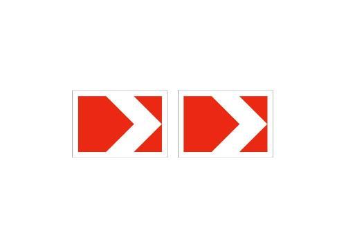 1.34.1 — Направление поворота (размер 1, двойной)