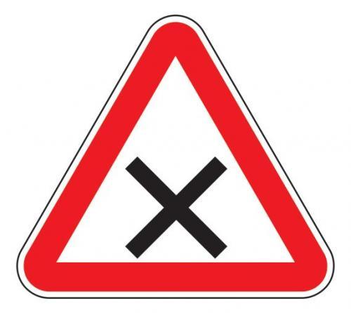 1.6 — Пересечение равнозначных дорог