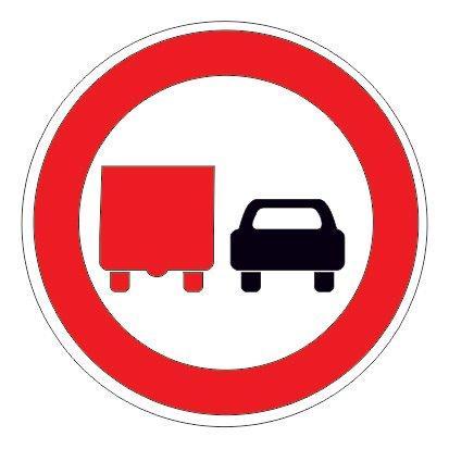 3.22 — Обгон грузовым автомобилям запрещен