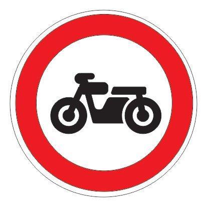 3.5 — Движение мотоциклов запрещено