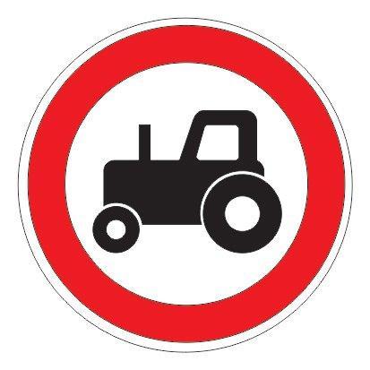 3.6 — Движение тракторов запрещено