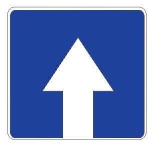 5.5 — Дорога с односторонним движением