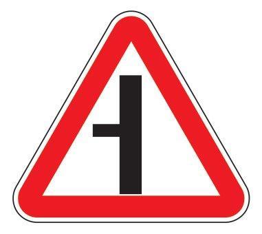 2.3.3 — Примыкание второстепенной дороги