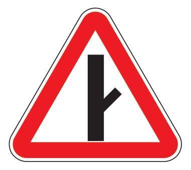 2.3.4 — Примыкание второстепенной дороги