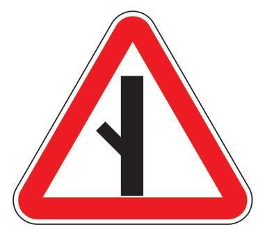 2.3.5 — Примыкание второстепенной дороги