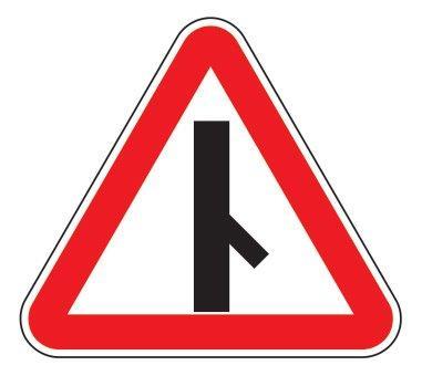 2.3.6 — Примыкание второстепенной дороги