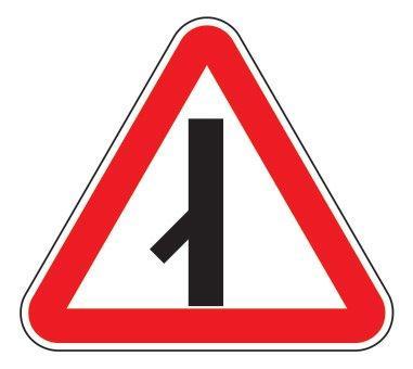 2.3.7 — Примыкание второстепенной дороги