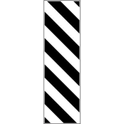 2.1.1 - Знак вертикальной разметки