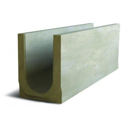 Лоток водоотводный бетонный SteePlus DN 150 H 265