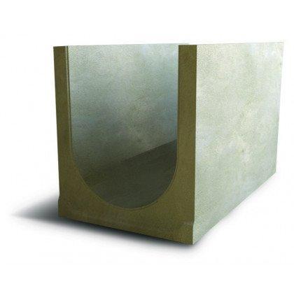 Лоток водоотводный бетонный SteePlus DN 400 H 450