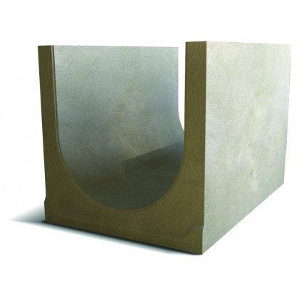 Лоток водоотводный бетонный SteePlus DN 500 H 350