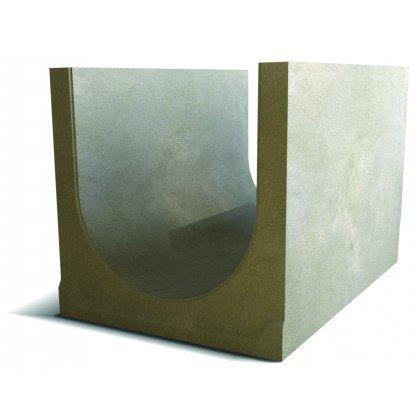 Лоток водоотводный бетонный SteePlus DN 500 H 375