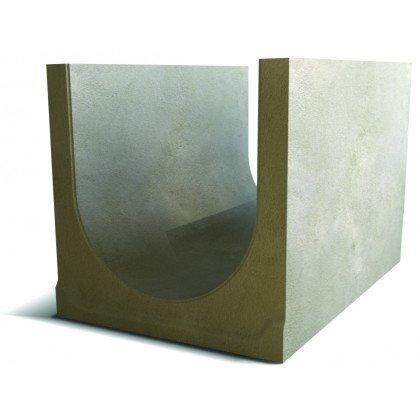 Лоток водоотводный бетонный SteePlus DN 500 H 400