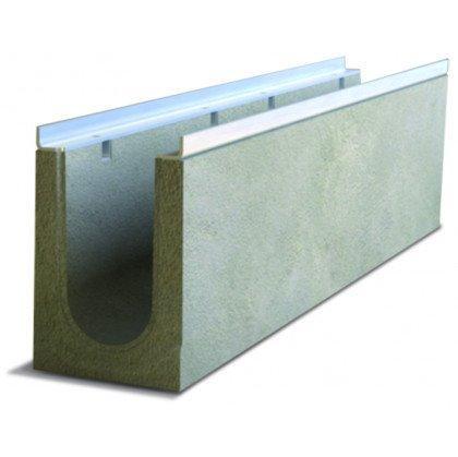 Лоток водоотводный бетонный SteePro DN 100 Н 180