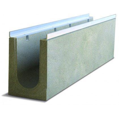 Лоток водоотводный бетонный SteePro DN 100 Н 205