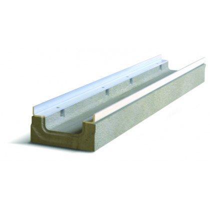 Лоток водоотводный бетонный SteePro DN 100 Н 250