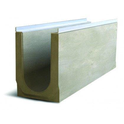 Лоток водоотводный бетонный SteePro DN 150 Н 255